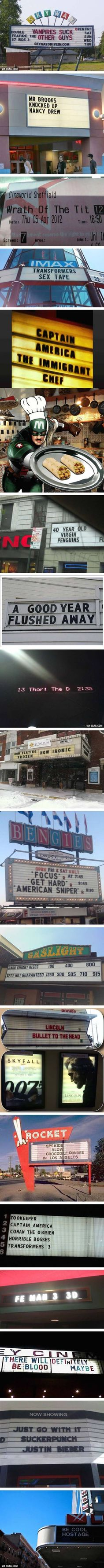 15 Hilarious Movie Theater Coincidences