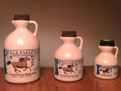 T Farms - Didn't know we had a Maple Syrup industry in Kentucky. Got mine at Marksbury Farm and it a really excellent product.