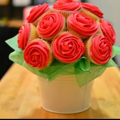 Cupcake bouquet...