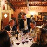 I grandi vini di Puglia nel cuore del Chianti Classico.   Sergio Zingarelli e Mario Guidotti con Ignazio Anglani