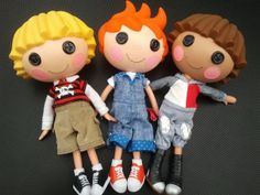 The Lalaboys by inkie-mummy on Flickr #Lalaloopsy