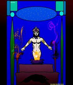 Adonis o Adonish es el dios del cielo en Shem, también de la fertilidad y de la potencia sexual masculina.