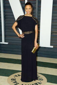#ThandieNewton #bestdressed   #oscars2015   #redcarpet   #academyawards   #redcarpetfashion