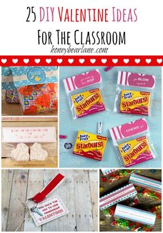 Want to create some unique Valentines for your kids class this year? Here are 25 stellar DIY Valentines Ideas!