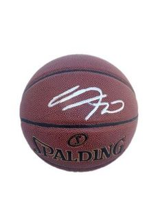Manu Ginobili Autographed Basketball - Spalding Indoor Outdoor - JSA Certified - Autographed Basketballs -- See this great product.