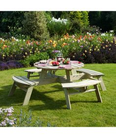 only 2x4s and 2x6s picnic table very octagonny. Black Bedroom Furniture Sets. Home Design Ideas