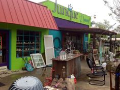 Antiquing in Johnson City! Old Shutters, Johnson City, Distressed Furniture, Antique Stores, Yard Sales, Vaseline, Antiques, Cottages, Places