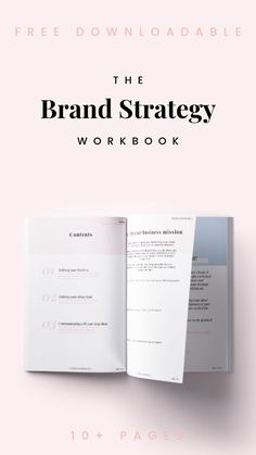 Define your business & identify your ideal client FREE workbook. - This page workbook is designed to help you create a purposeful and consistent brand and profit - Branding Your Business, Small Business Marketing, Marketing Plan, Creative Business, Content Marketing, Marketing Communications, Media Marketing, Business Mission, Start Up Business