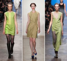 Pantone 2014 Color Trends | Linden Green- It seems that Fall/Winter 2013-2014 is going