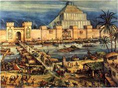 Map of Babylon with Ziggurat   ... Collection Galleries World Map App Garden Camera Finder Flickr Blog