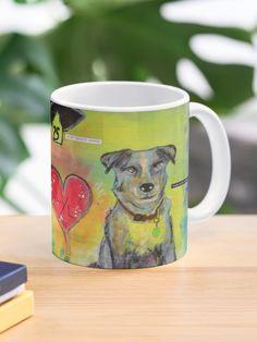 """Ducky & Jake"" Mug by Thebohohouseart   Redbubble Custom Mugs, Artist, Artists"