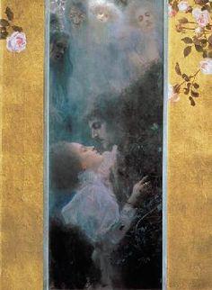 Klimt, Gustav : Liebe.  Perhaps my favorite.
