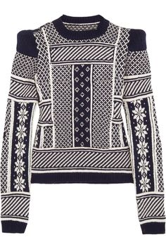Maison Martin Margiela | Fair Isle wool sweater  - luv