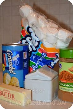 """Another recipe post! Two Biblical Easter Treats plus, a recipe for Marshmallow Peep S'mores! May use the """"Resurrection Cookies"""" and/or """"Easter Story Cookies"""" as extension activities for (Catholic/Christian based) biblical teaching if desired. Holiday Treats, Holiday Fun, Holiday Recipes, Resurrection Rolls, Easter Treats, Easter Food, Easter Cookies, Easter Story, Recipes With Marshmallows"""