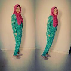 Hijab, IED Mubarak.