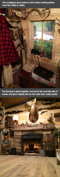 This guy transformed his basement into complete awesomeness! Click the image to check it out!