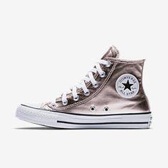 f4290dd918a0 Converse Chuck Taylor All Star Metallic Canvas High Top Women s Shoe Size  13 (Pink)