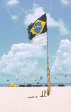 #Brazil #flag #TheCrocGoesToRio