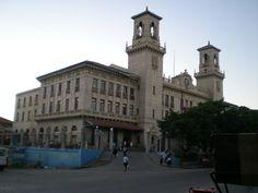 Havana's Train Station. Terminal de Trenes de la Habana