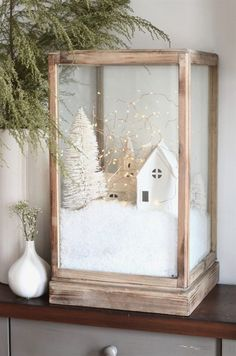 diy-christmas-villag