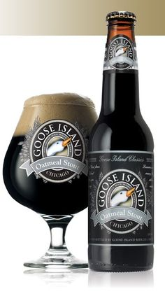 Bottle and Glass of Stout.