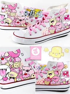 Sweet Friends Shoes by ~Bobsmade on deviantART