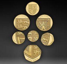 New Scottish coin design.