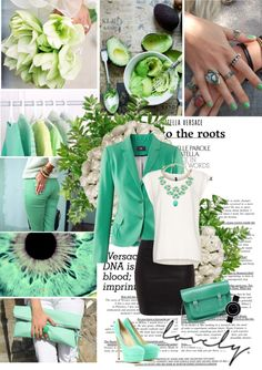 """""""Spring colours bring me joy"""" by miss-raspberry-92 ❤ liked on Polyvore"""