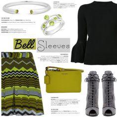 Street Style Trend: Bell Sleeves