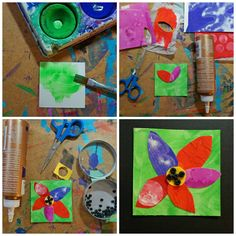 This spring I have done this flower inchie series with both Grade 3 and Grade 5, (different schools).    Amazing results. As always...