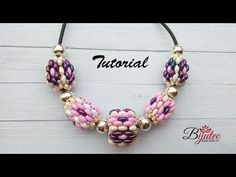 Floral beaded components ~ Seed Bead Tutorials