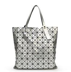 86f7ecf2b0 Women s Handbag Fashion Brand Japan Style Hight Quality Like As BAOBAO Bag  Lattice Geometry Shoulder Bag