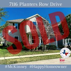 This adorable #McKinney home sold in 7 days! #happyhomeowner #dallasrealestate