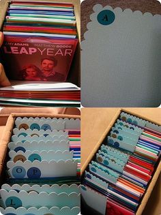 organizing DVD's