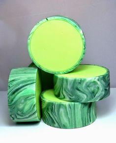 Creative soap by Steso: Aloe vera. Soap from scratch, cold way.