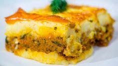 Reteta - Musaca cu piure de cartofi | Bucataras TV - YouTube Serbian Recipes, Serbian Food, Tapas, Musaka, Pasta, Lasagna, Quiche, Food And Drink, Potatoes