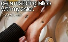 sister tattoo @ Stephanie Lieber