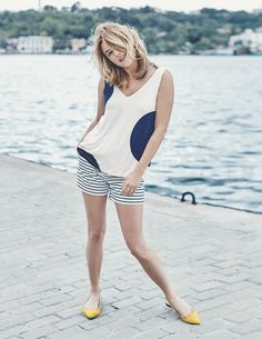 Emilia Tank WO025 Tops & T-shirts at Boden
