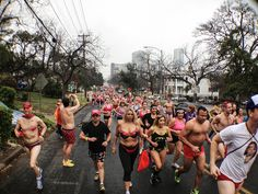 The Cupid's Undie Run for the Children's Tumor Foundation in Austin, Texas. Quirky towns with quirky ways to raise money!