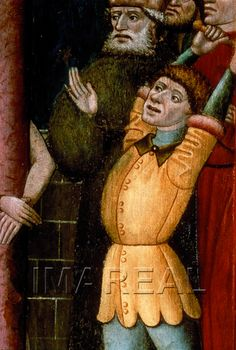 Geißelung Christi Kunstwerk: Temperamalerei-Holz ; Einrichtung sakral ; Flügelaltar ; Niederösterreich ; Mt:27:001-031 , Mk:15:001-020 , Jo:19:001-008  Dokumentation: 1450 ; 1455 ; Herzogenburg ; Österreich ; Niederösterreich ; Stiftsgalerie  Anmerkungen: 83x57,5
