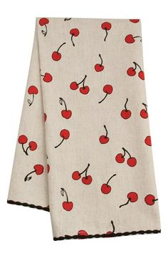 Fishs Eddy 'Cherries' Dish Towel available at #Nordstrom
