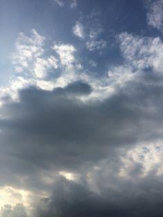 2016년 7월 14일의 하늘 #sky #cloud
