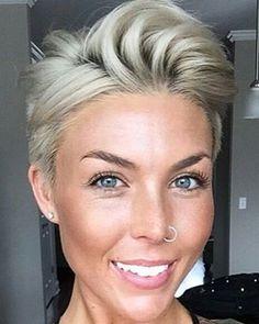@fallonmyranda #pixie #haircut #short #shorthair #h #s #p #shorthaircut #hair #b #sh #haircuts #blonde #blondehair #blondehairdontcare #blondeshavemorefun #platinumhair #platinum