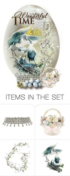 """""""Easter Egg 2015"""" by ragnh-mjos ❤ liked on Polyvore featuring art, Easter, egg, LIGHTITUPBLUE and Spring2015"""