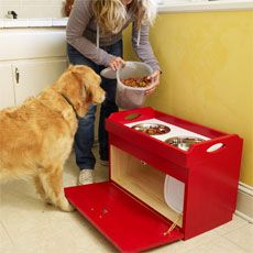 How to Build a Dog Feeding Station