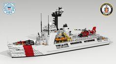LEGO Coast Guard Ship | Reliance Class US Coast Guard Cutter