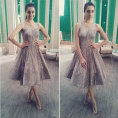 Shraddha Kapoor puts on an ornate Swapnil Shinde outfit for her new TVC