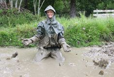 femmes in muddy waders