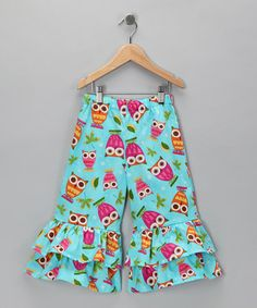 ruffle pants OWLS!!!