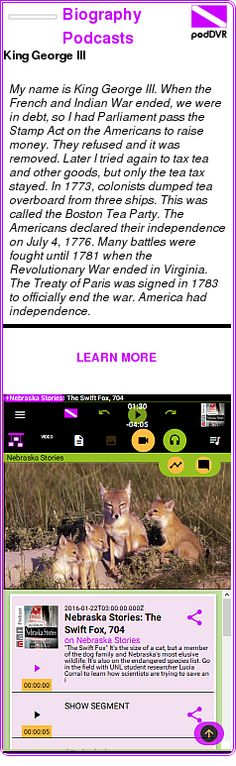 #UNCAT #PODCAST  Biography Podcasts    King George III    LISTEN...  http://podDVR.COM/?c=8709ba5f-49f0-afb6-7fdd-0de0fcc40915